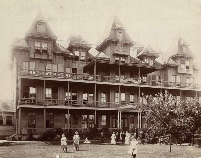 1905 - Hanlan, Hotel (1880-1909), Hanlan's Point