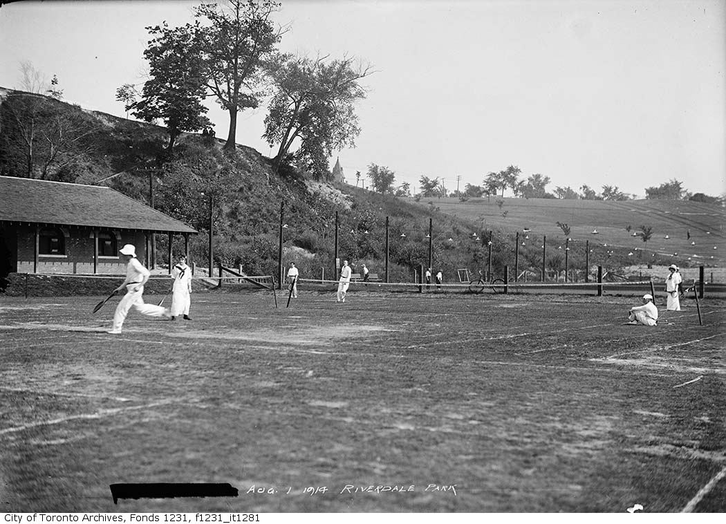 1914 - Riverdale Park, tennis