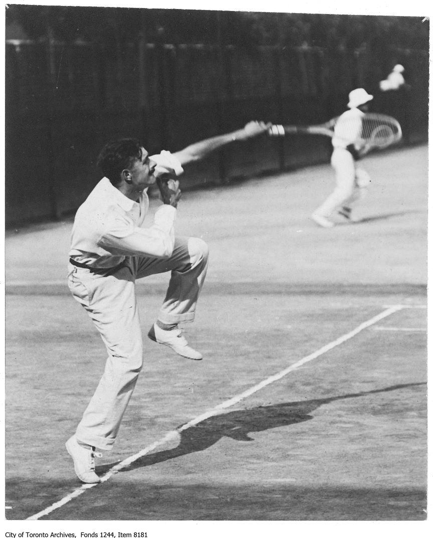 1919 - Gordon Spanner, Toronto Tennis Club
