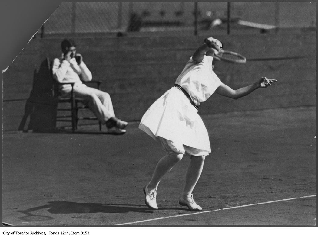 1920 - Tennis player Phoebe Grierson