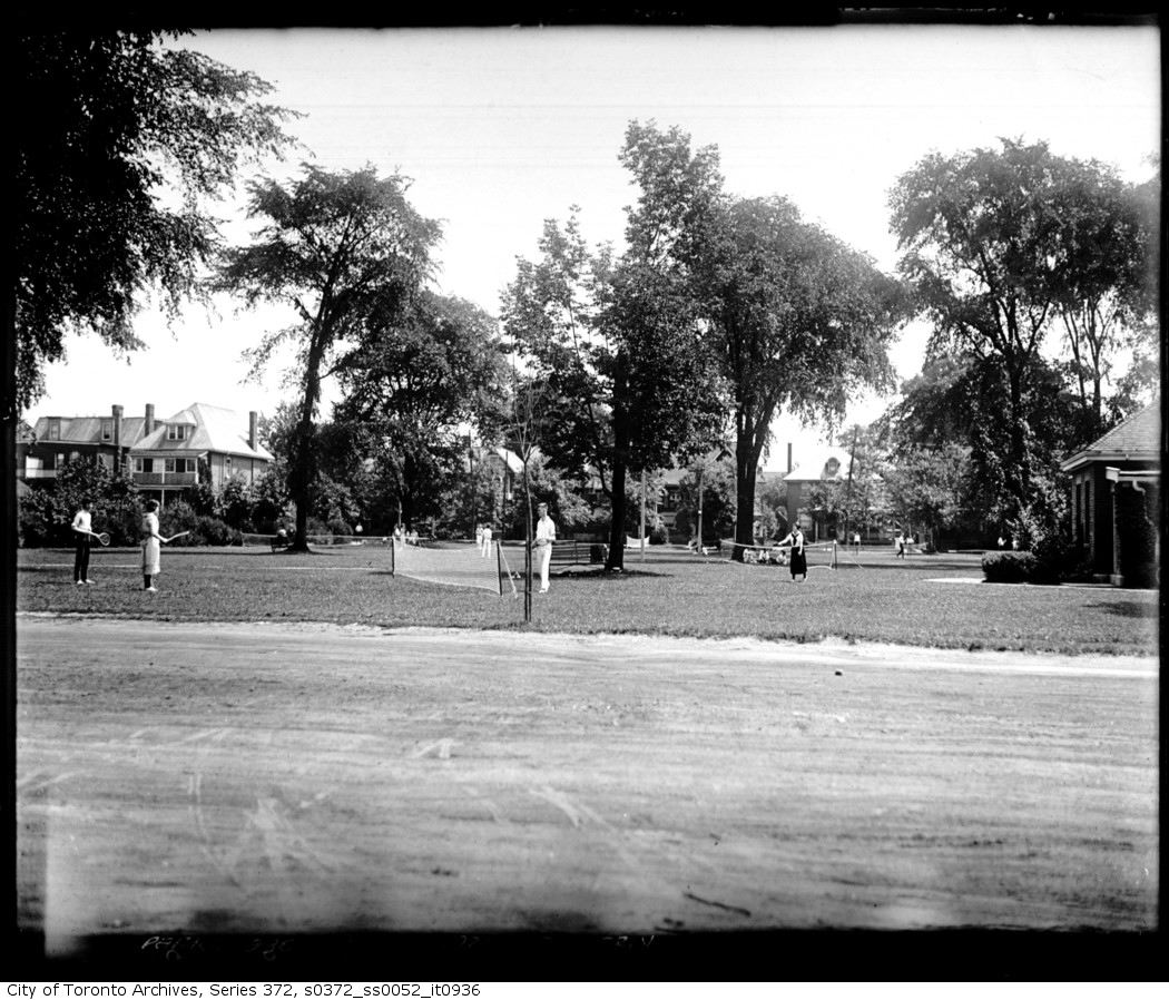 1921 - july 1 - Dufferin Grove Park