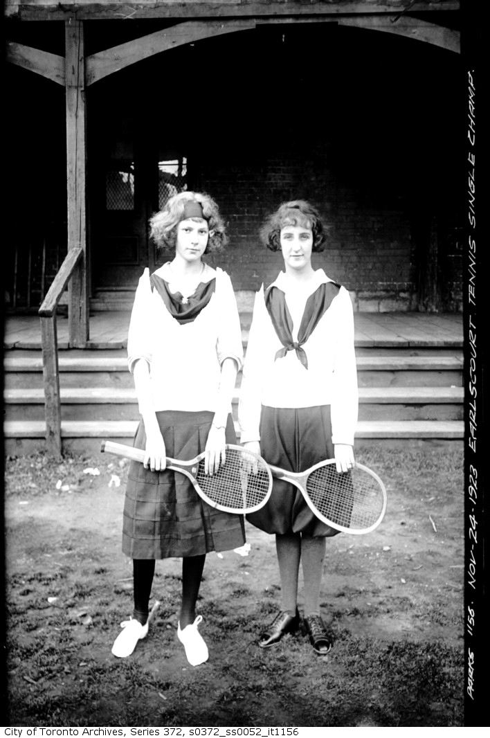 1923 - nov 24 - Earlscourt Tennis Singles Ladies Champions