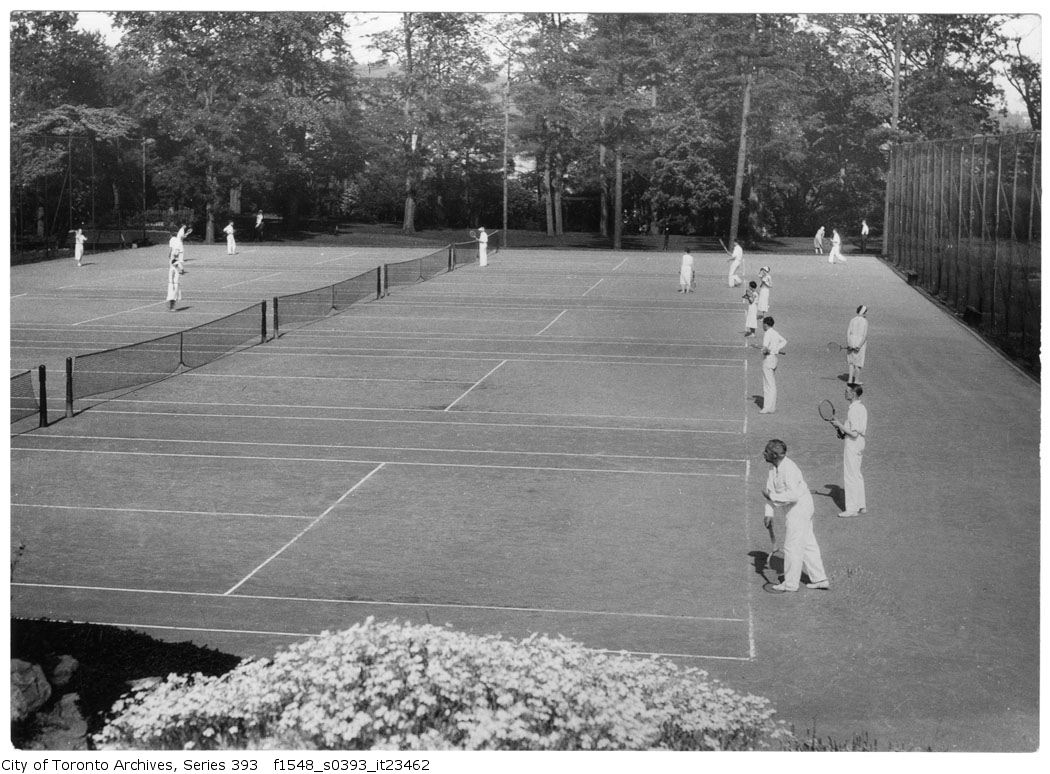 1931 - Old Mill tennis grounds