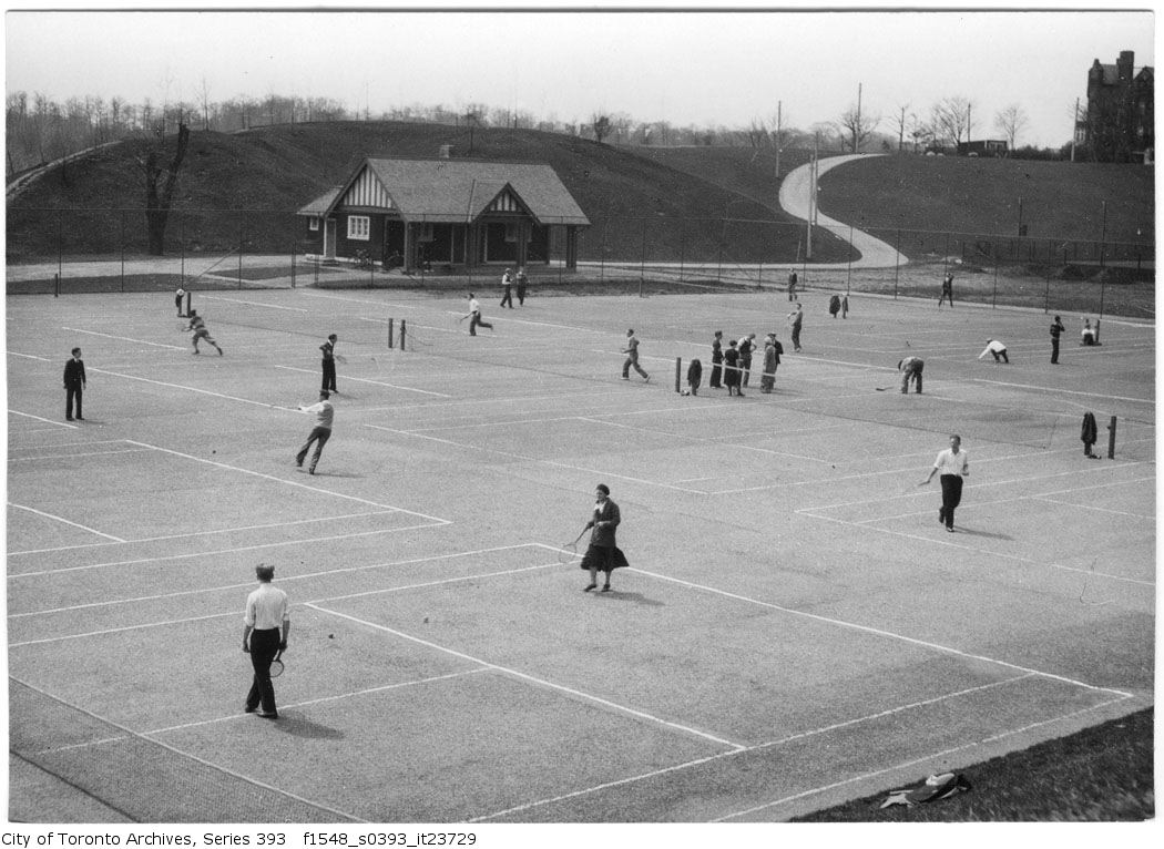 1932 - Riverdale Tennis Court