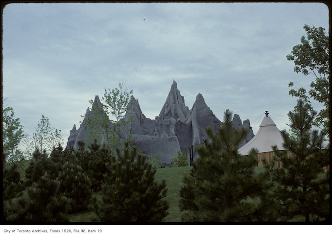 1981 - June 8 - View of Wonder Mountain at Canada's Wonderland