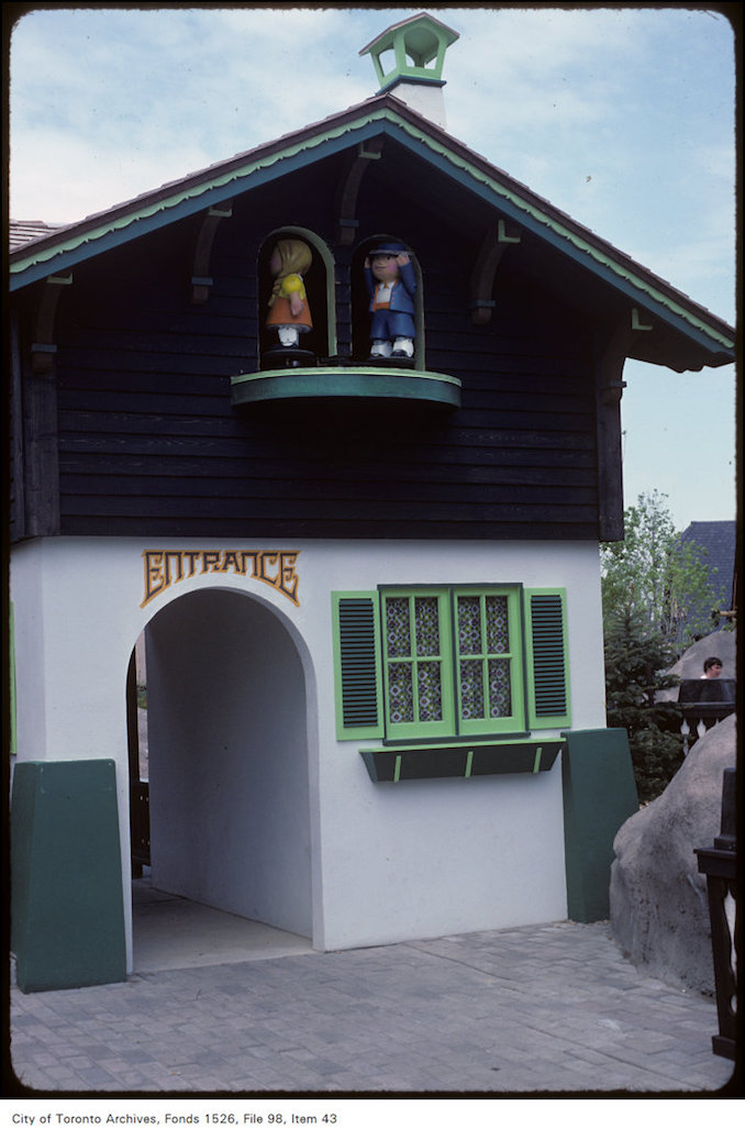1981 - june 8 - Exterior view of unidentified house at Canada's Wonderland