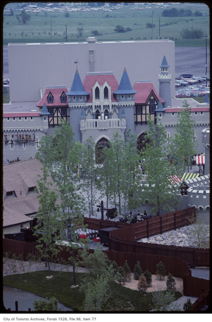1981 - june 8 - View of castle on Canada's Wonderland grounds