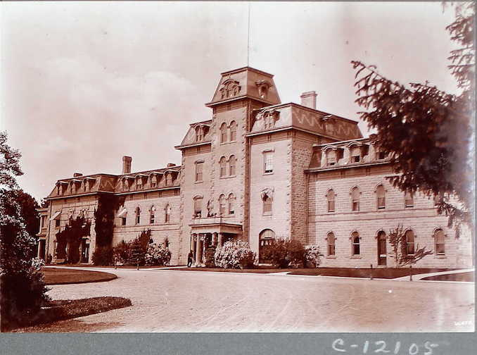 Main Building, Agricultural College, Guelph
