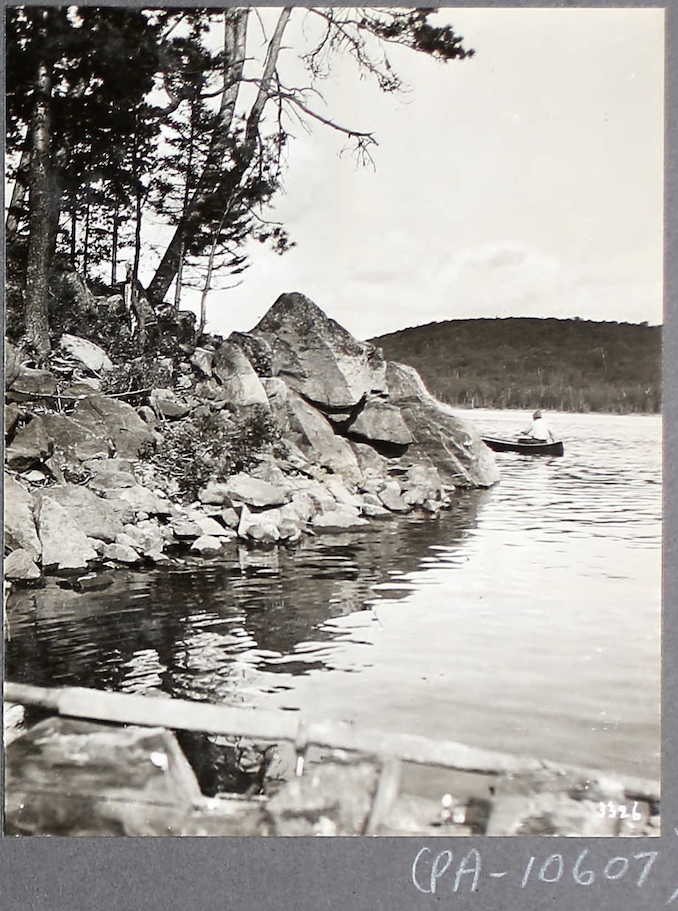 """Nominigan Camp"", Smoke Lake, Algonquin Park"