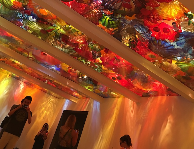 Chihuly Exhibit ROM
