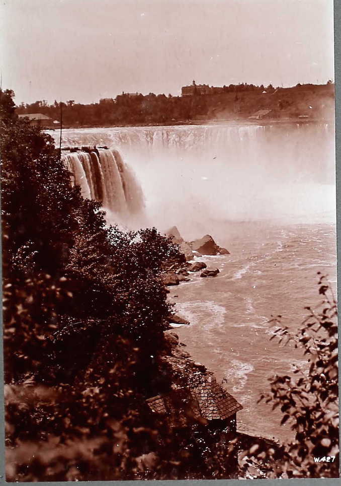 Horseshoe Falls, Niagara Settlement Photographs