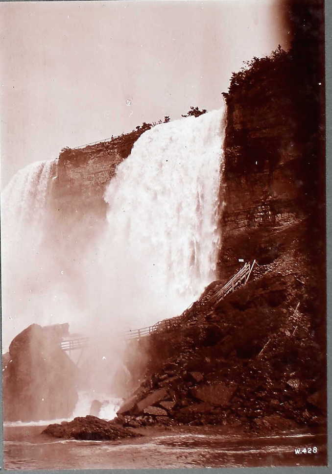 Cave of the Winds, Niagara Settlement Photographs