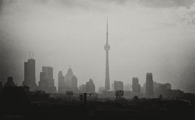 CN Tower from a Distance #3 (Early Morning)