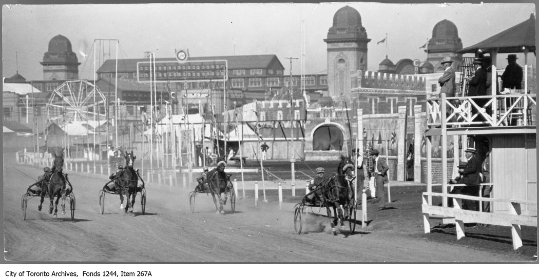 1900-1920 - Sulky races, CNE