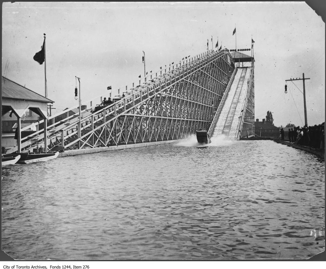 1903 - Water chute ride, CNE
