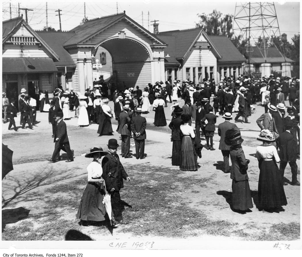 1908 - Dufferin Gates, CNE