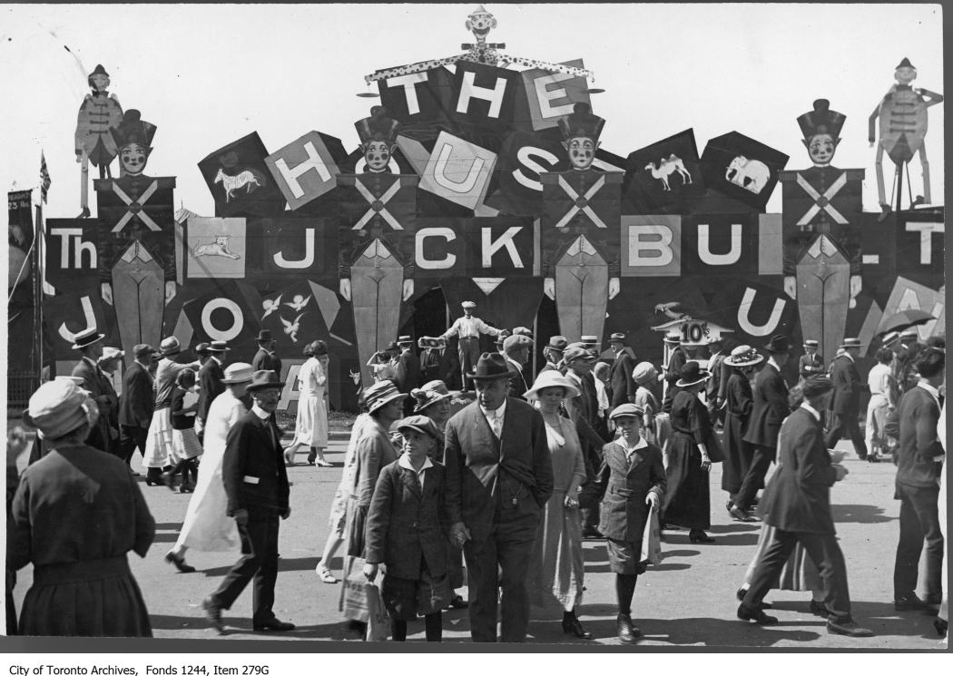 "1913 - ""The House That Jack Built"" midway game or show, CNE"