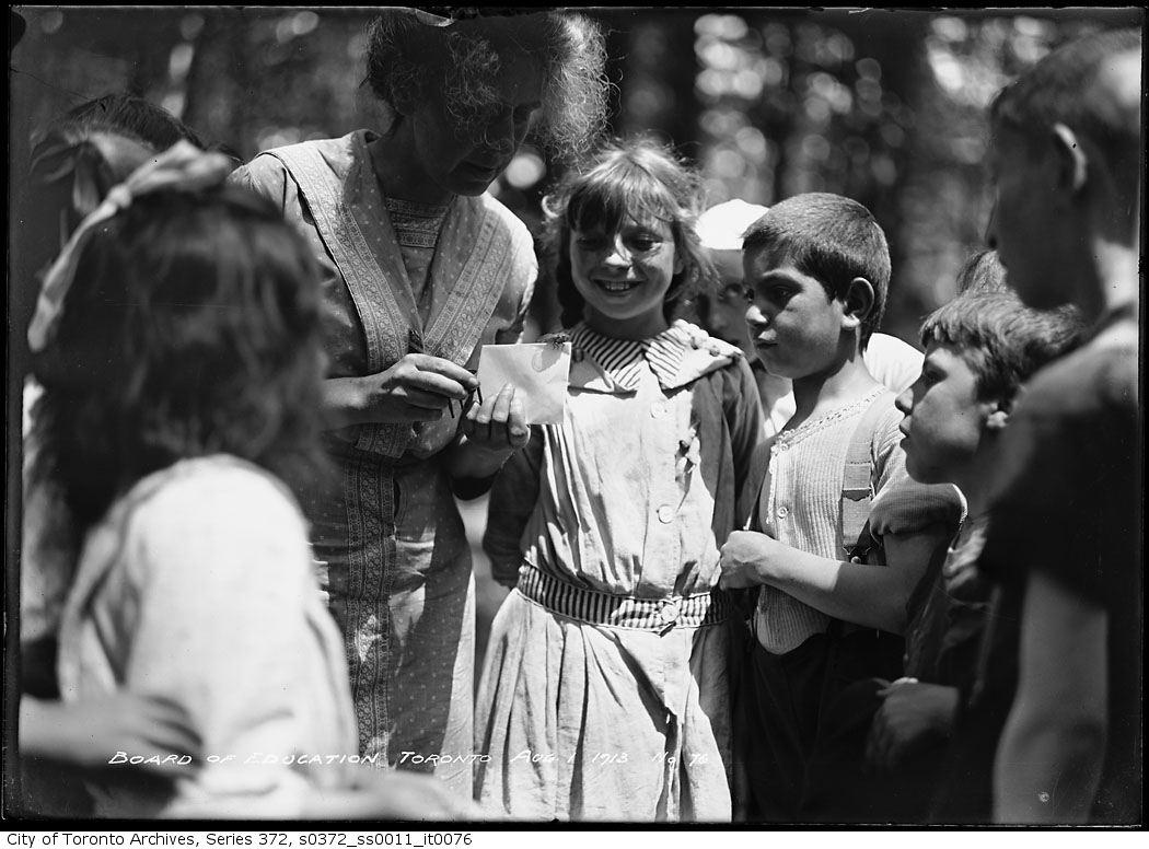 1913 - Forest School - Board of Education