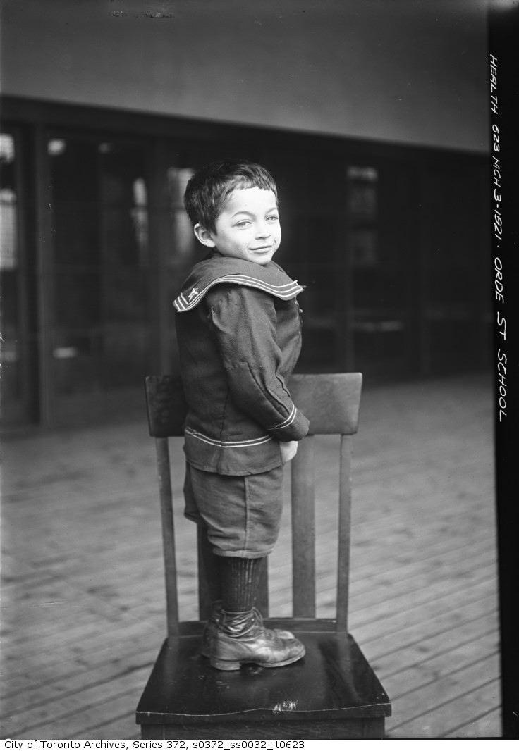 1921 - Orde Street School pupil