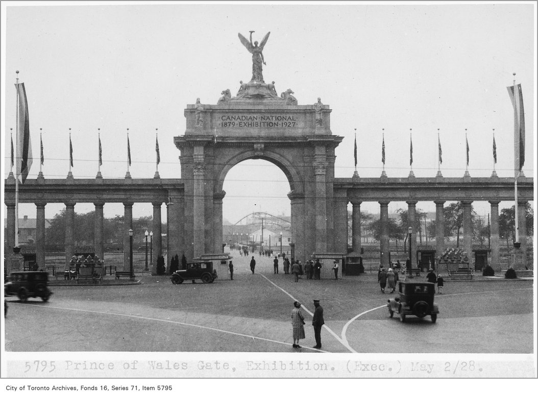 1927 - Prince of Wales Gate, Exhibition
