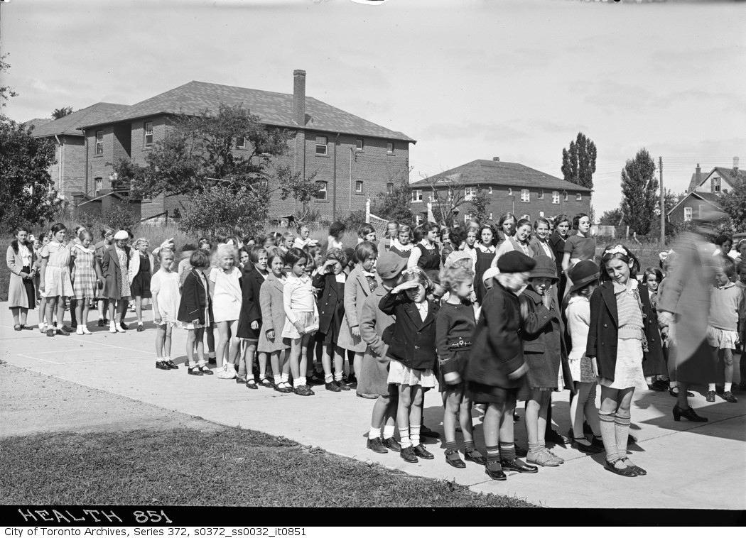 1934 - Health Sercive — Oriole Park School