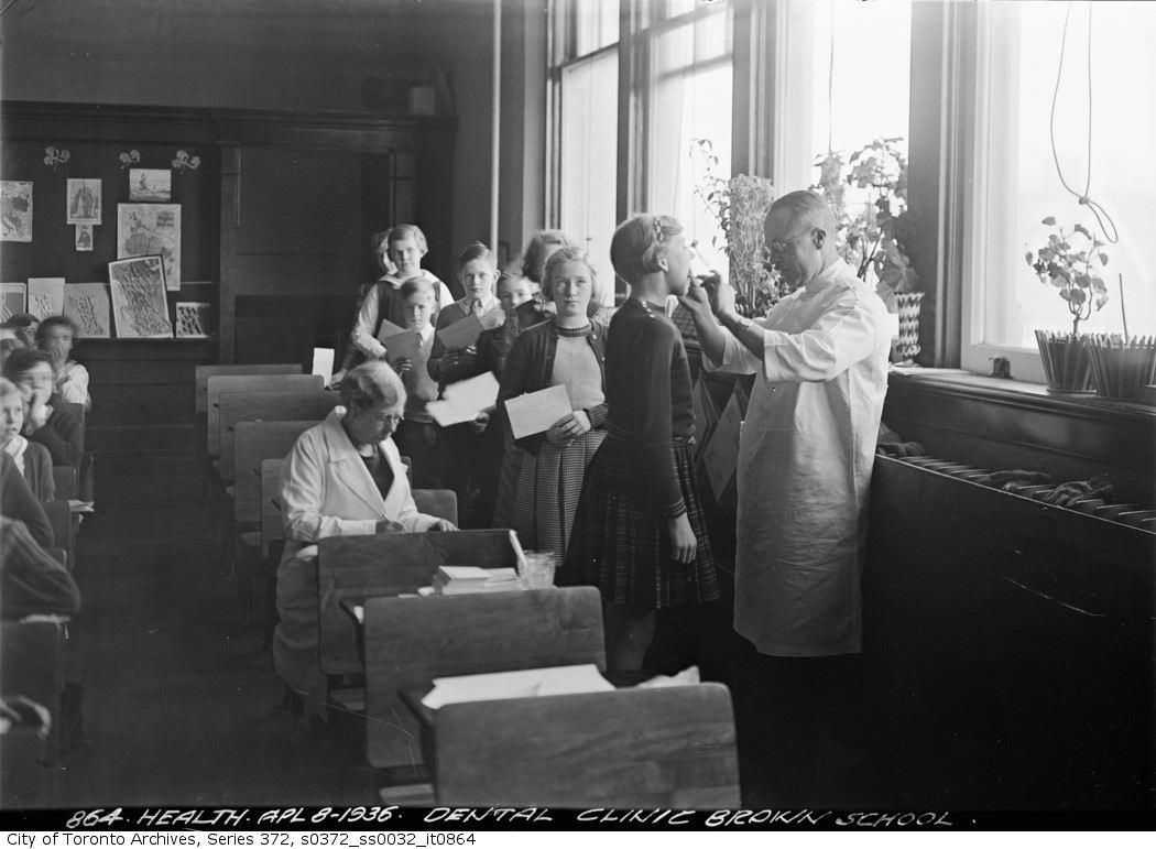 1936 - Dental clinic, Brown School