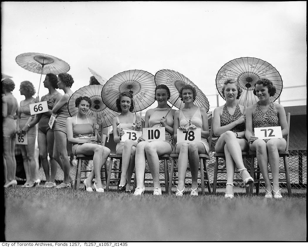 1936 - Miss Toronto Beauty Contest