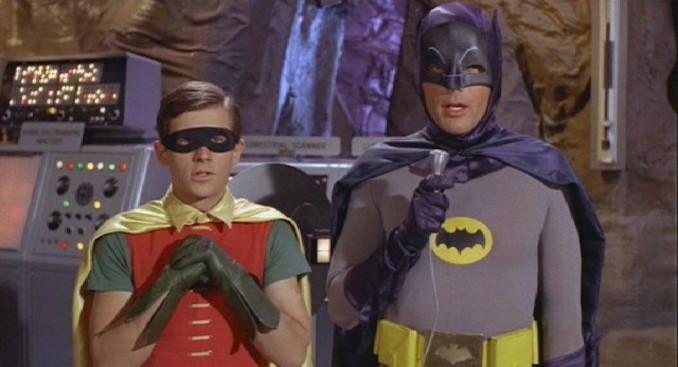 batman and robin fan expo