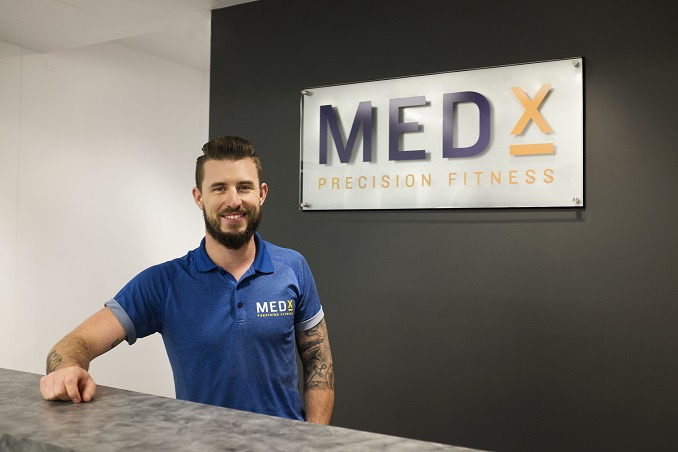 Blair Wilson, President of MedX Precision Fitness