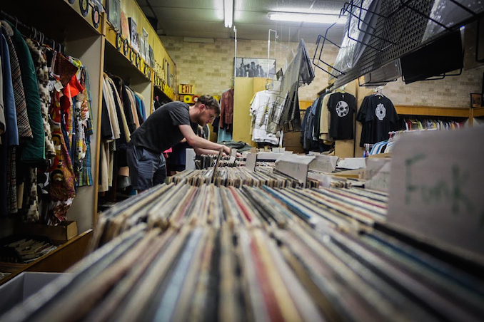 Chasing Records in Detroit