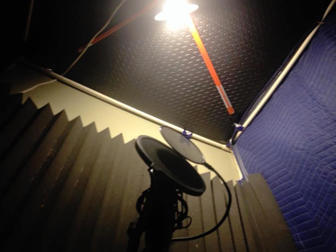 Home Mic Booth