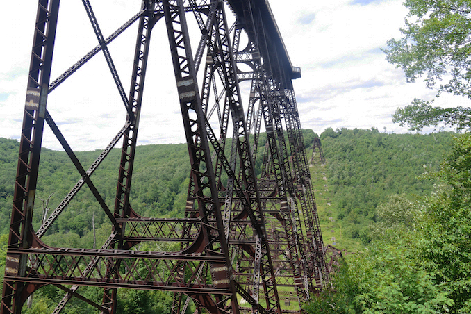 Kinzua Sky Walk in Pennsylvania - Pennsylvania roadtrip