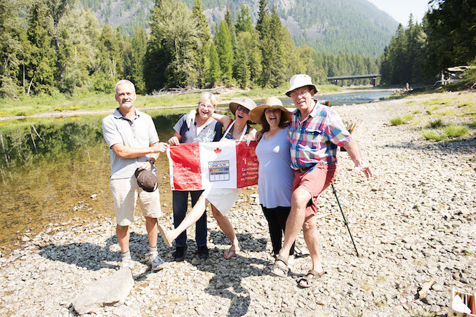 Last August, I travelled to Kimberly B.C. for a painting trip with a number of other members of the Canadian Society of Painters in Water Colour - Tim Packer