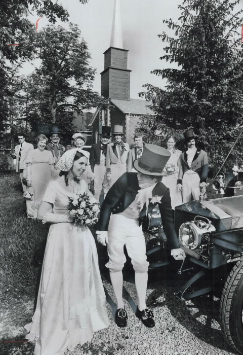 1977-costume-wedding-between-york-university-history-graduate-donald-dayton-and-university-of-toronto-psychology-graduate-barbara-carlson