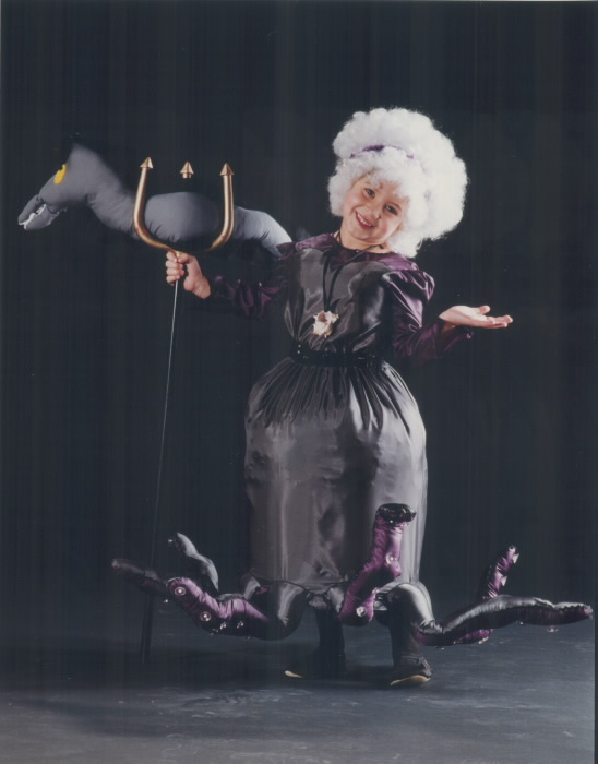 1992-falon-fiorino-5-won-second-prize-as-ursula-the-octopus