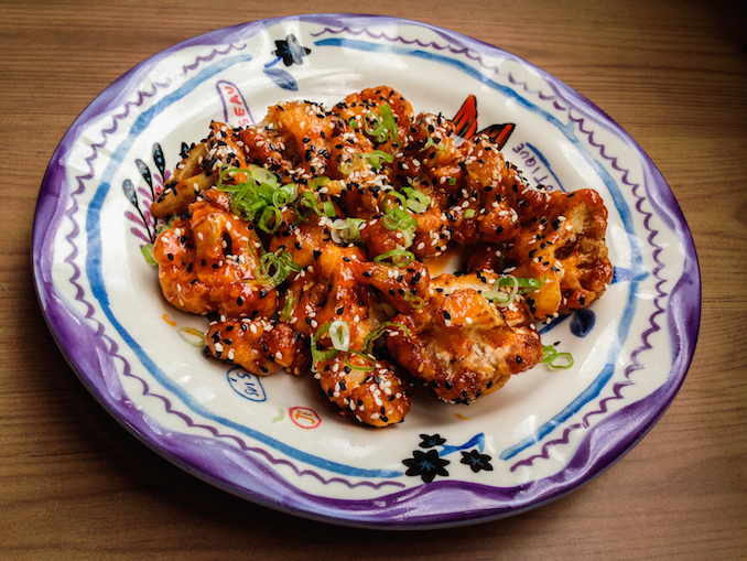 The Citizen - General Tso Cauliflower