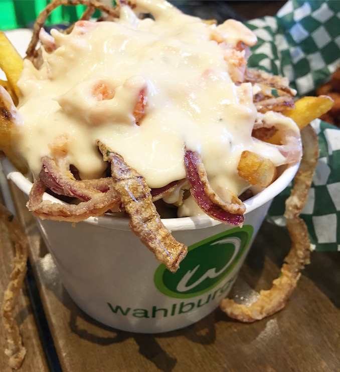 Lobster Poutine at Wahlburgers in Toronto - Paul Wahlberg