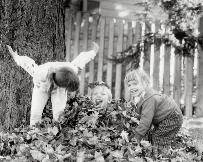 1986 - Some girls are such bullies. The leaves are falling all over Ontario and a lot of local kids have got a mean glint in their eyes.