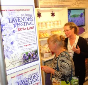 PEC lavender at one of a kind show