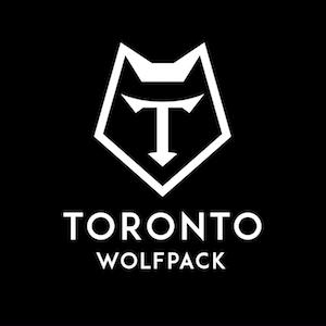 Black Toronto Wolfpack Logo