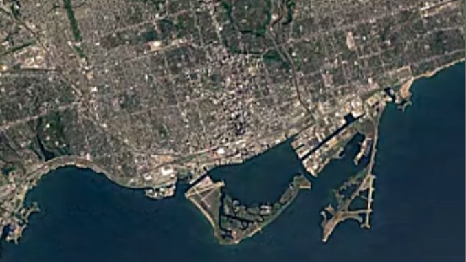 Google Earth Toronto timelapse - top stories 2016