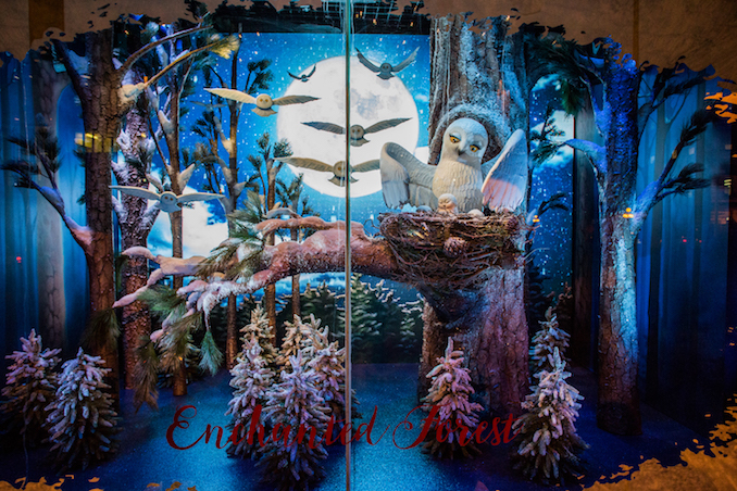 The Bay Christmas Windows 2016 - Holiday Spirit