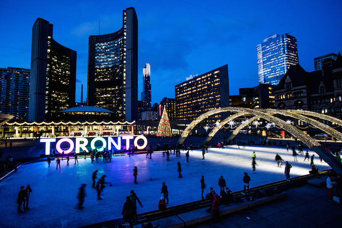 Nathan Philips Square - City Hall - Toronto