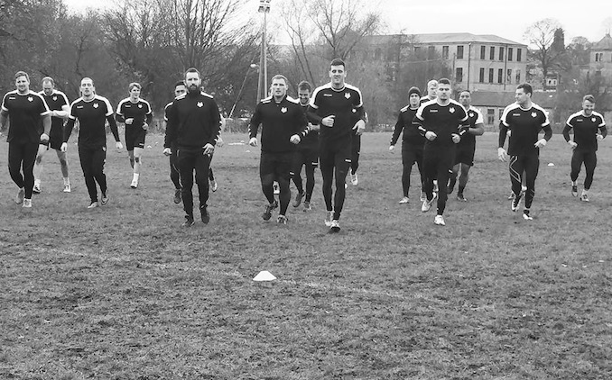 Toronto Wolfpack Practice - top stories 2016