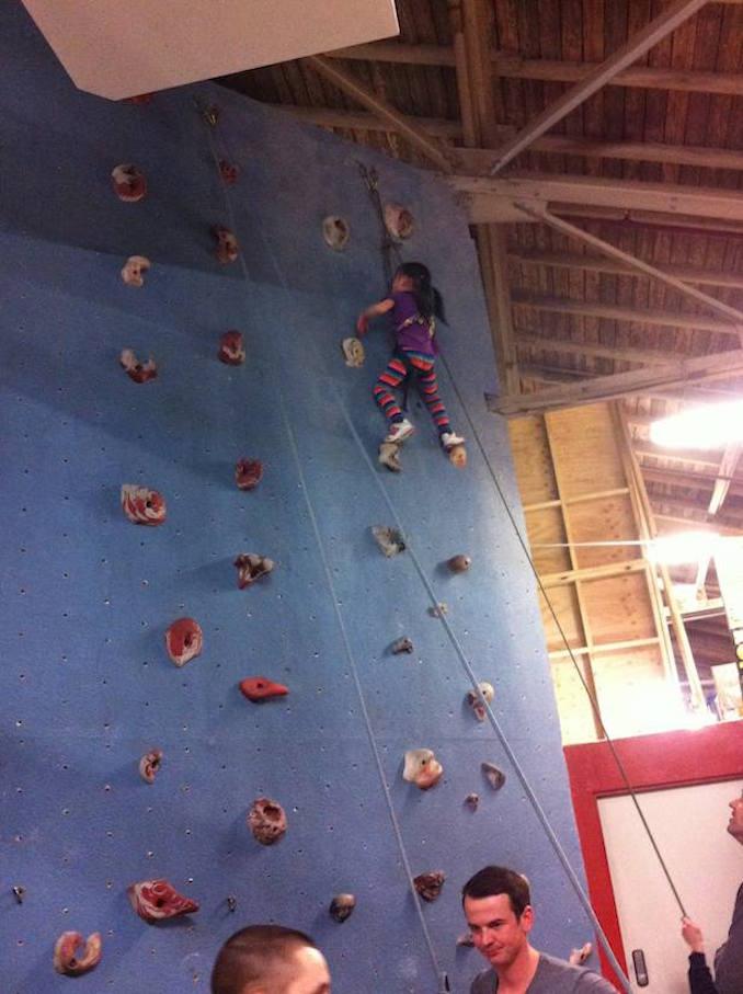 Rock Oasis Indoor Rock Climbing