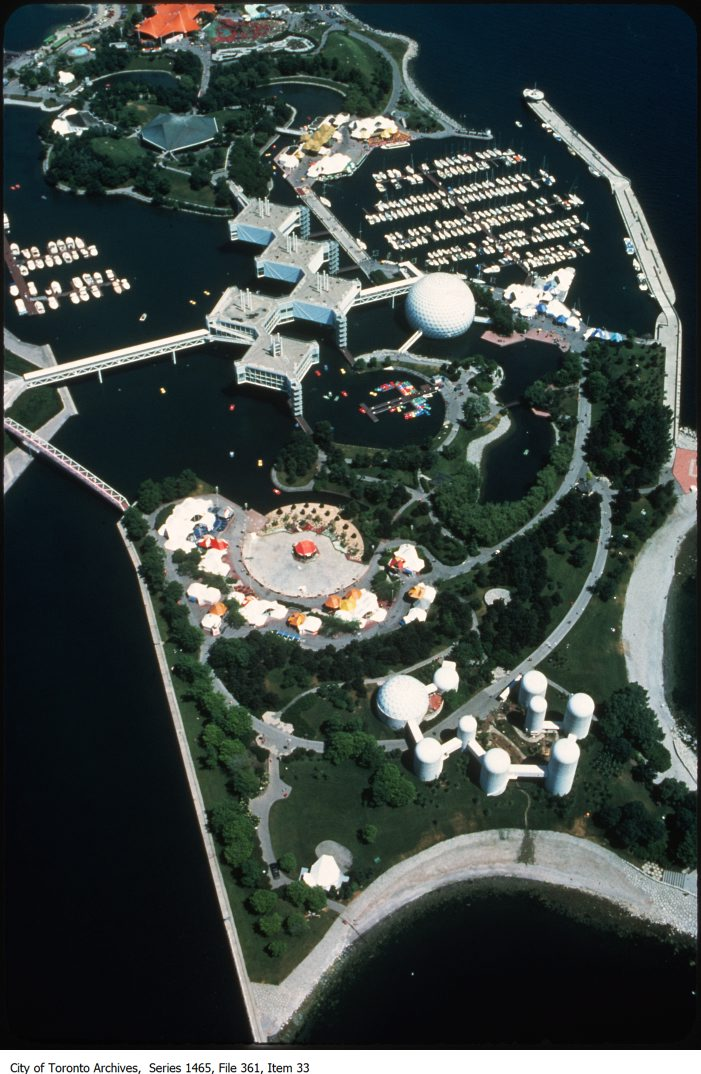 1980-1987- Ontario Place - the Forum and exterior views.. - 1980-1987