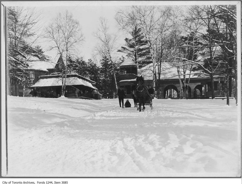 1907 - High Park Pavilion - Toronto Snow Storms