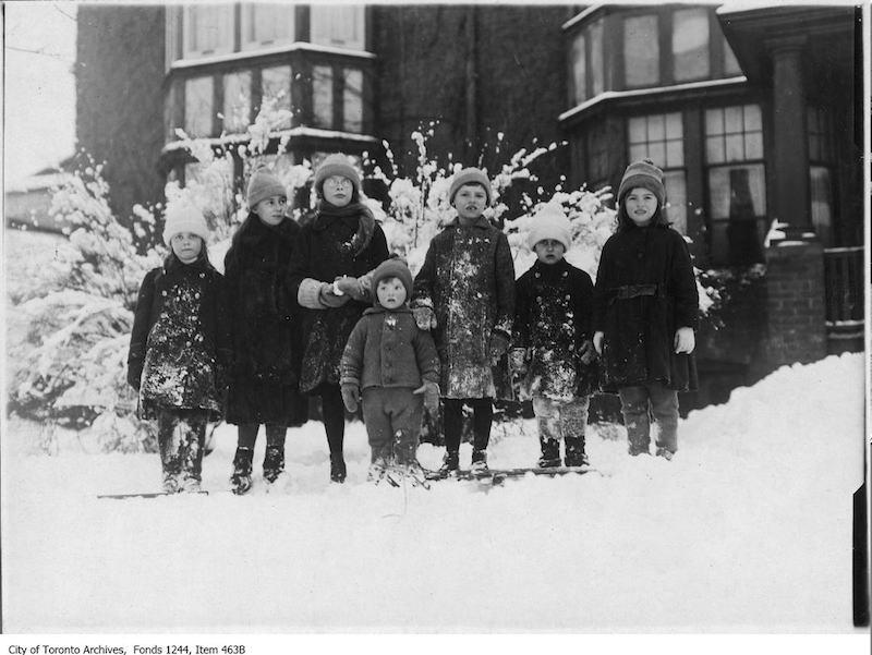 1920 - Rosedale children