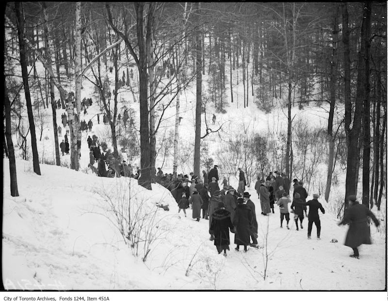 1920? - Winter walk in High Park