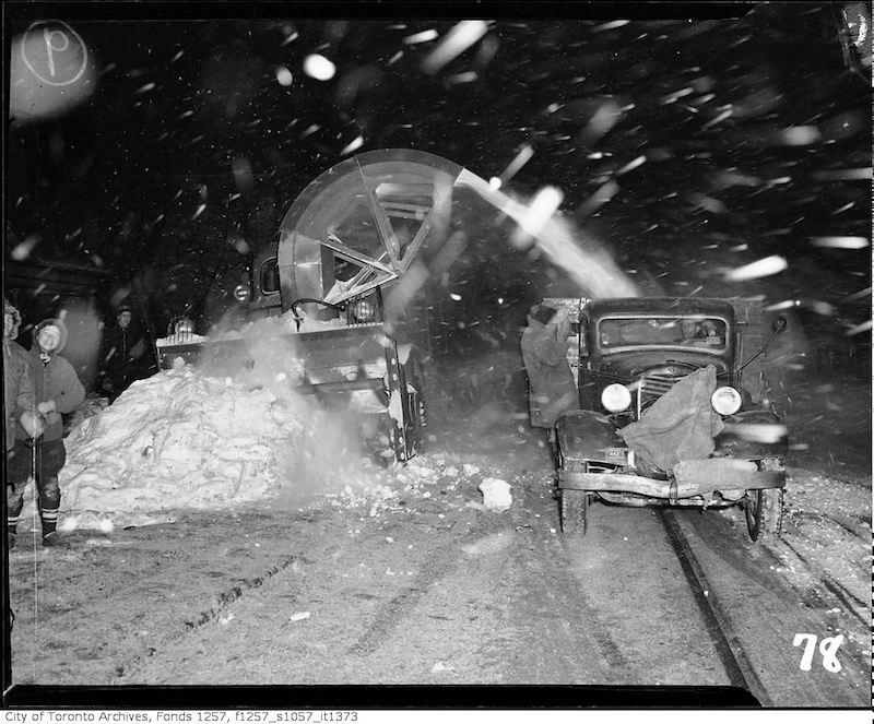 1943 - Snow Blower